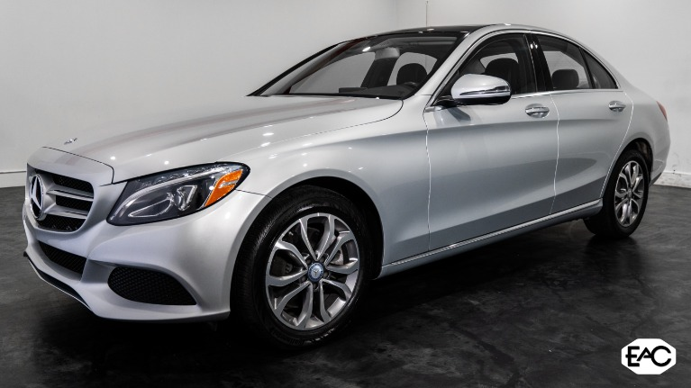 Used 2017 Mercedes-Benz C-Class C 300 Luxury 4MATIC for sale $24,890 at Empire Auto Collection in Warren MI