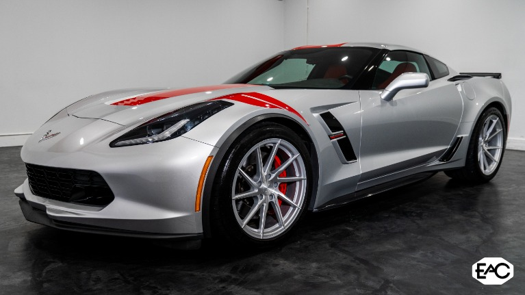 Used 2017 Chevrolet Corvette Grand Sport for sale $49,990 at Empire Auto Collection in Warren MI