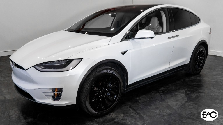 Used 2018 Tesla Model X 100D for sale Sold at Empire Auto Collection in Warren MI 48091 1