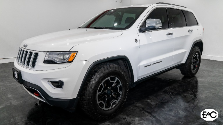 Used 2015 Jeep Grand Cherokee Limited for sale Sold at Empire Auto Collection in Warren MI 48091 1