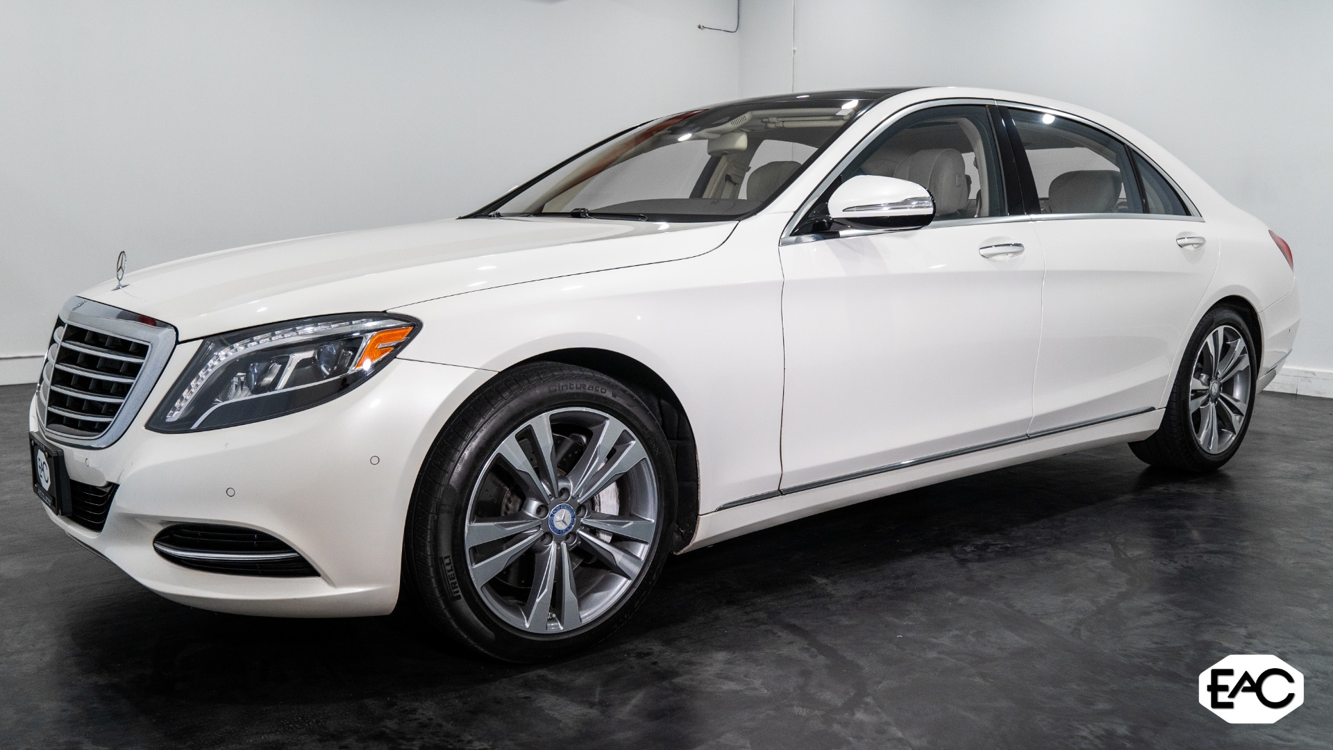 Used 2017 Mercedes-Benz S-Class S 550 4MATIC for sale Sold at Empire Auto Collection in Warren MI 48091 1