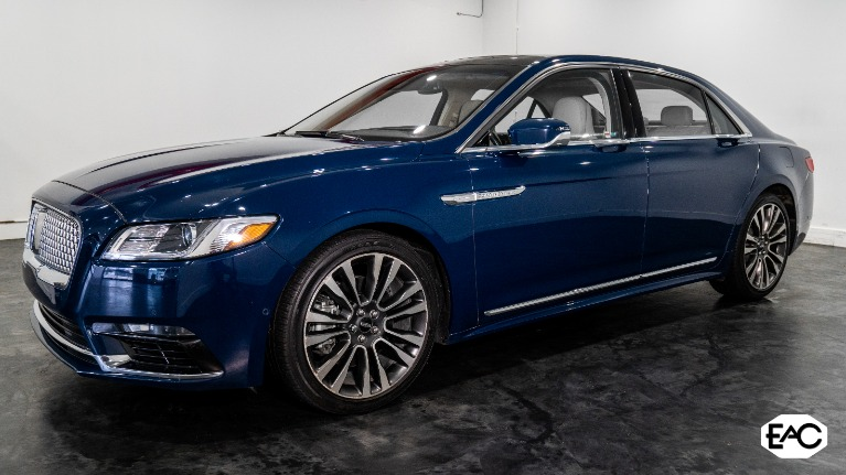 Used 2018 Lincoln Continental Reserve for sale Sold at Empire Auto Collection in Warren MI 48091 1