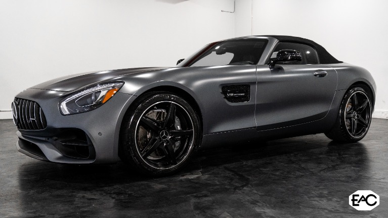 Used 2018 Mercedes-Benz AMG GT 2dr Roadster for sale $93,990 at Empire Auto Collection in Warren MI 48091 1