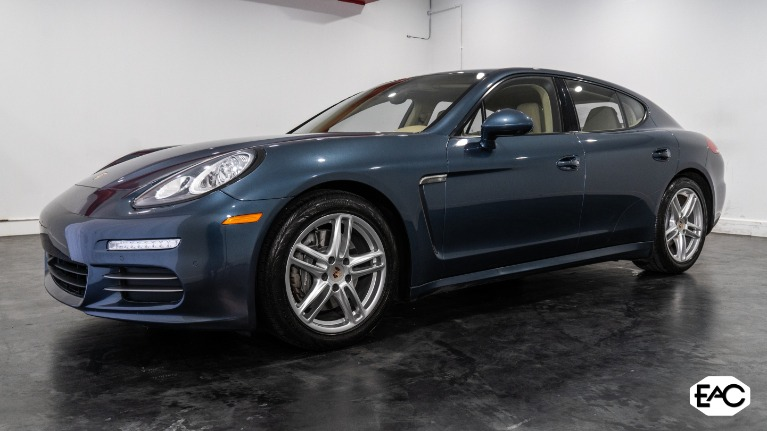 Used 2014 Porsche Panamera 4 for sale Sold at Empire Auto Collection in Warren MI 48091 1