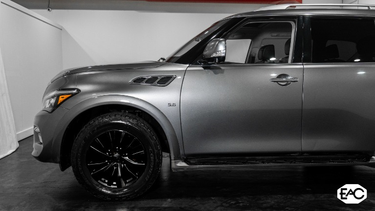 Used 2016 INFINITI QX80 AWD 5.6 V8 for sale $27,490 at Empire Auto Collection in Warren MI 48091 2
