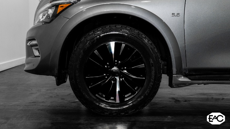 Used 2016 INFINITI QX80 AWD 5.6 V8 for sale $27,490 at Empire Auto Collection in Warren MI 48091 3