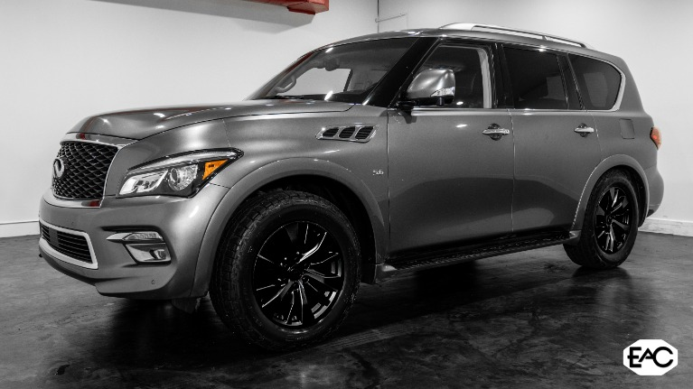 Used 2016 INFINITI QX80 AWD 5.6 V8 for sale $25,990 at Empire Auto Collection in Warren MI