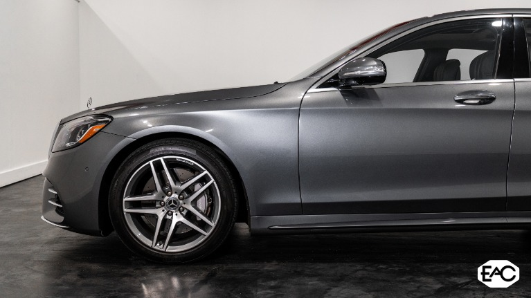 Used 2018 Mercedes-Benz S-Class S 560 4MATIC for sale Sold at Empire Auto Collection in Warren MI 48091 2