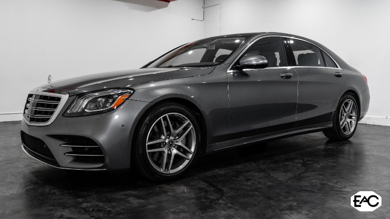 Used 2018 Mercedes-Benz S-Class S 560 4MATIC for sale $69,990 at Empire Auto Collection in Warren MI