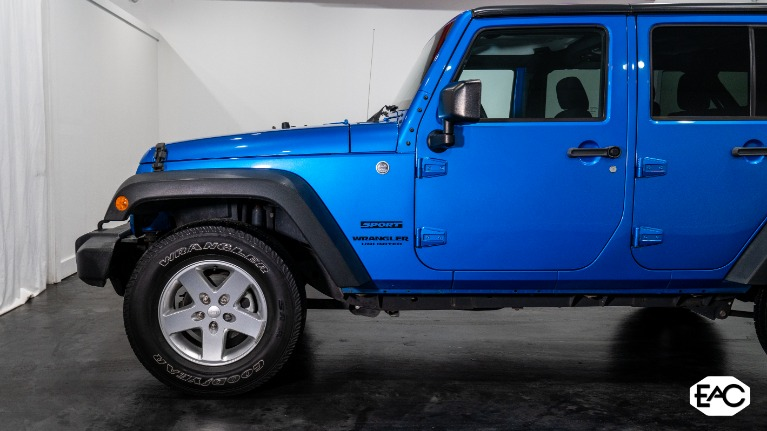 Used 2015 Jeep Wrangler Unlimited Sport for sale $26,990 at Empire Auto Collection in Warren MI 48091 2