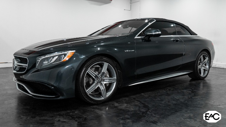 Used 2017 Mercedes-Benz S-Class AMG S 63 for sale $91,990 at Empire Auto Collection in Warren MI 48091 2