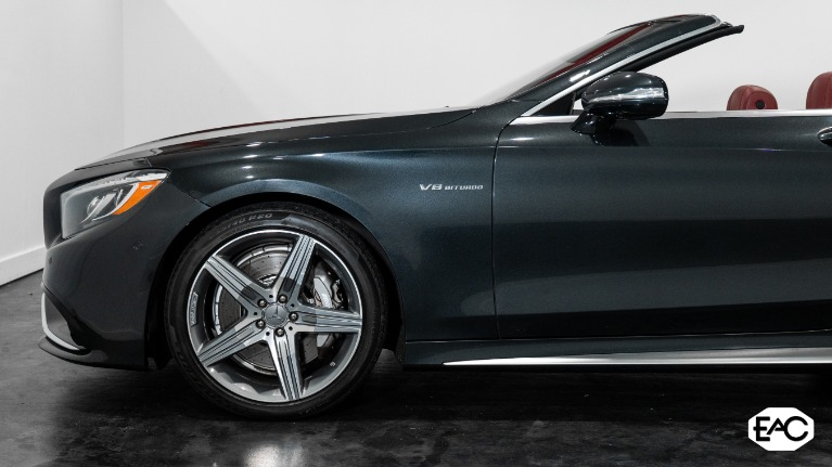 Used 2017 Mercedes-Benz S-Class AMG S 63 for sale $91,990 at Empire Auto Collection in Warren MI 48091 3