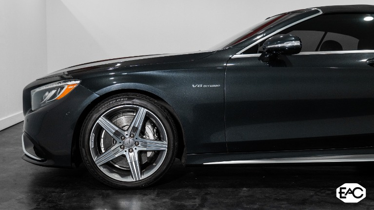 Used 2017 Mercedes-Benz S-Class AMG S 63 for sale $91,990 at Empire Auto Collection in Warren MI 48091 4