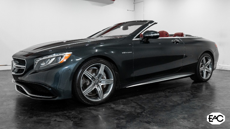 Used 2017 Mercedes-Benz S-Class AMG S 63 for sale $91,990 at Empire Auto Collection in Warren MI