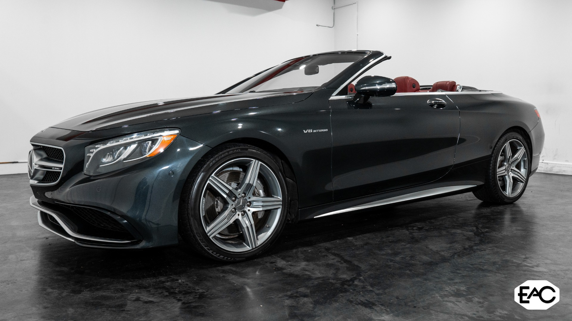 Used 2017 Mercedes-Benz S-Class AMG S 63 for sale $91,990 at Empire Auto Collection in Warren MI 48091 1