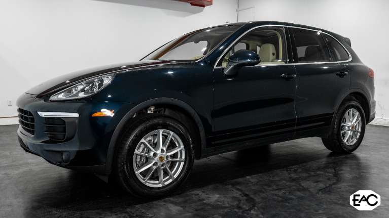 Used 2016 Porsche Cayenne AWD for sale Sold at Empire Auto Collection in Warren MI 48091 1