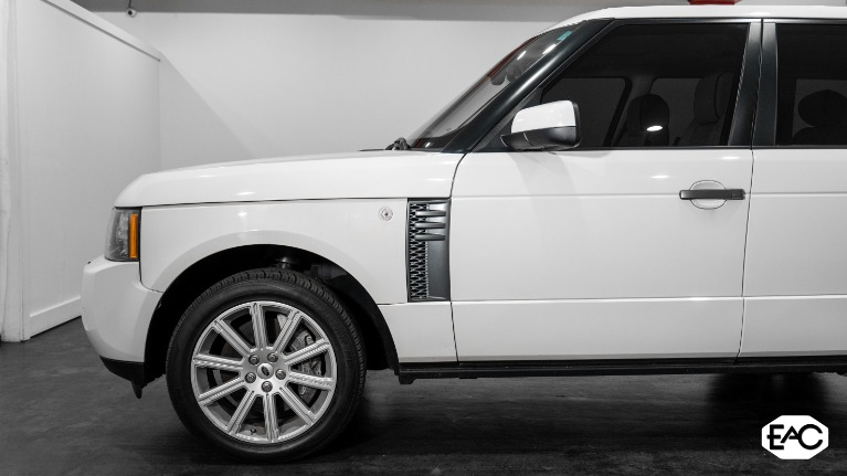Used 2010 Land Rover Range Rover Supercharged for sale Sold at Empire Auto Collection in Warren MI 48091 2