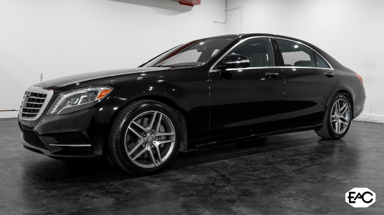 Used 2015 Mercedes-Benz S-Class S 550 4MATIC for sale $40,990 at Empire Auto Collection in Warren MI 48091 1