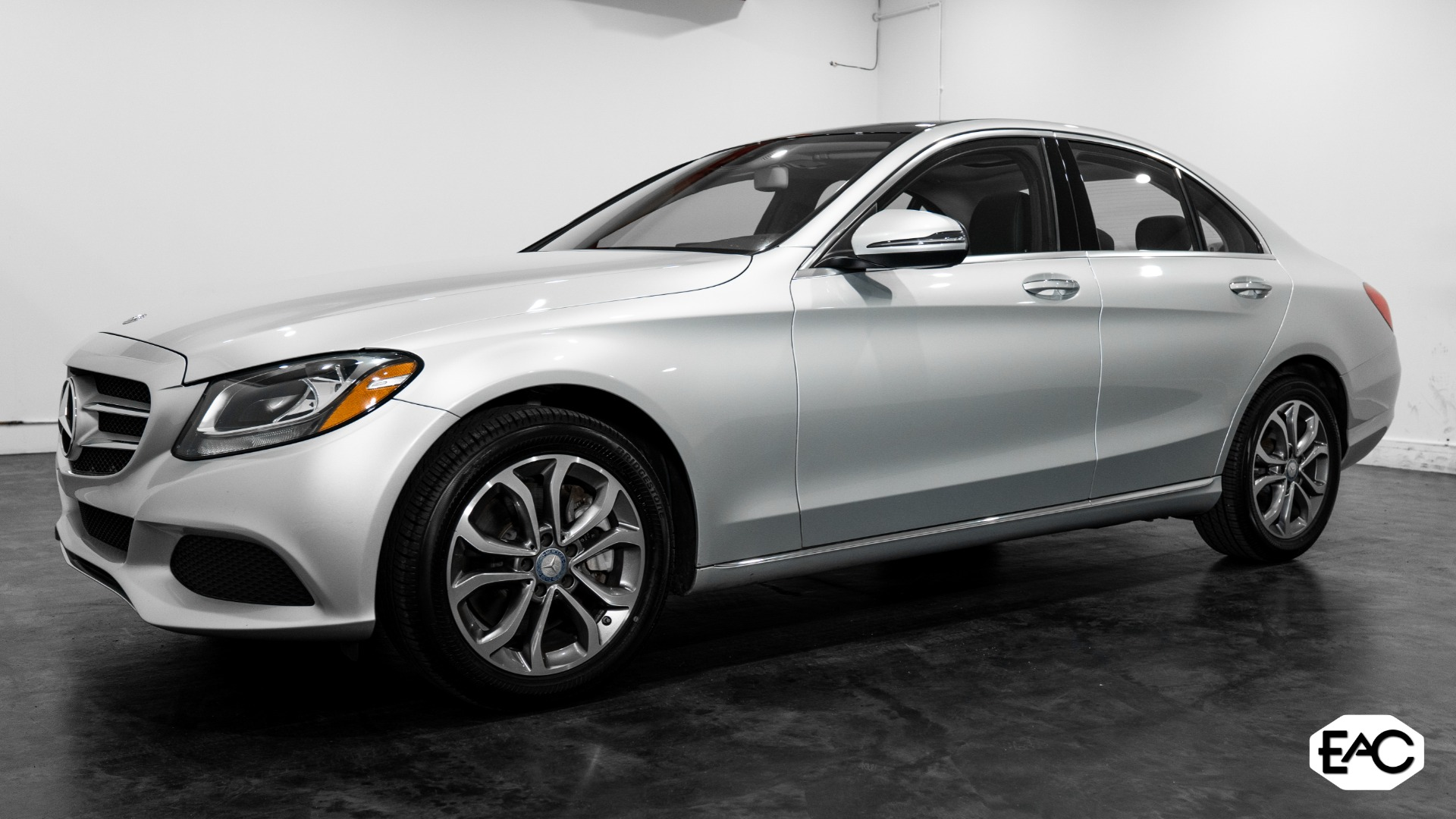 Used 2017 Mercedes-Benz C-Class C 300 Sport 4MATIC for sale $25,490 at Empire Auto Collection in Warren MI 48091 1