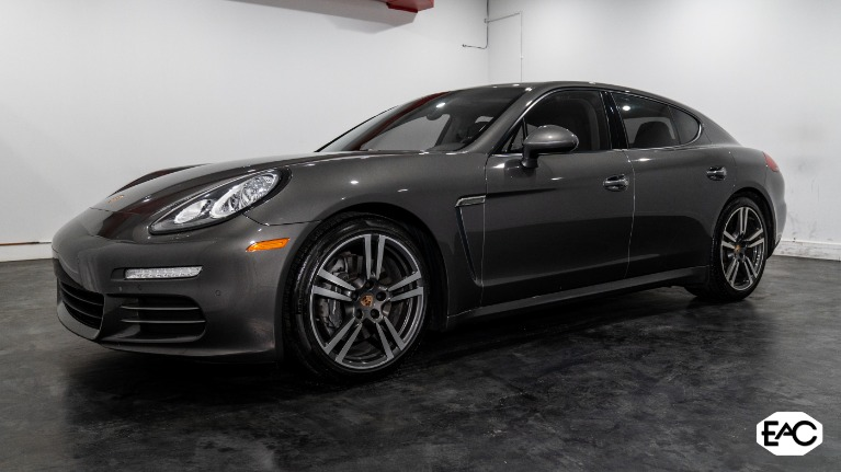 Used 2014 Porsche Panamera 4 for sale $35,990 at Empire Auto Collection in Warren MI