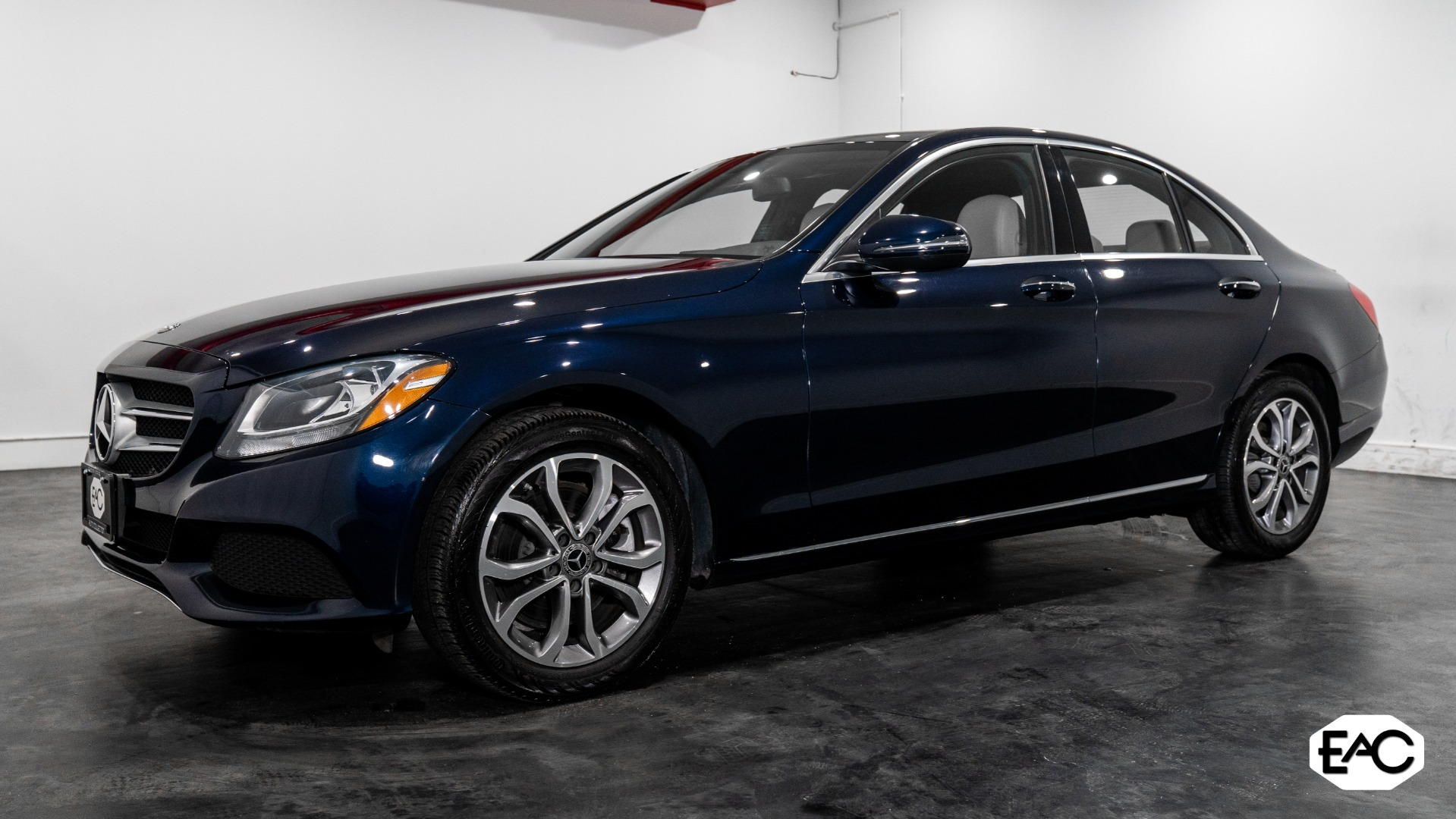 Used 2018 Mercedes-Benz C-Class C 300 4MATIC for sale $26,990 at Empire Auto Collection in Warren MI 48091 1