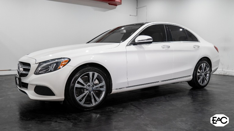 Used 2017 Mercedes-Benz C-Class C 300 Luxury 4MATIC for sale $24,990 at Empire Auto Collection in Warren MI