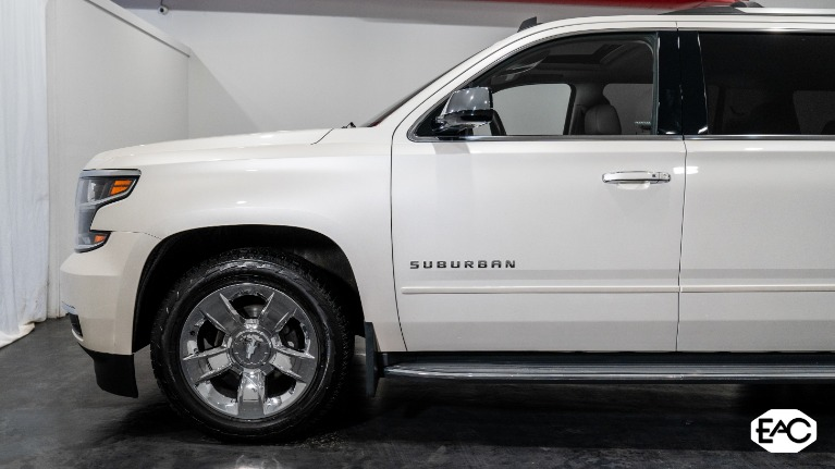 Used 2015 Chevrolet Suburban LTZ 1500 for sale Sold at Empire Auto Collection in Warren MI 48091 2