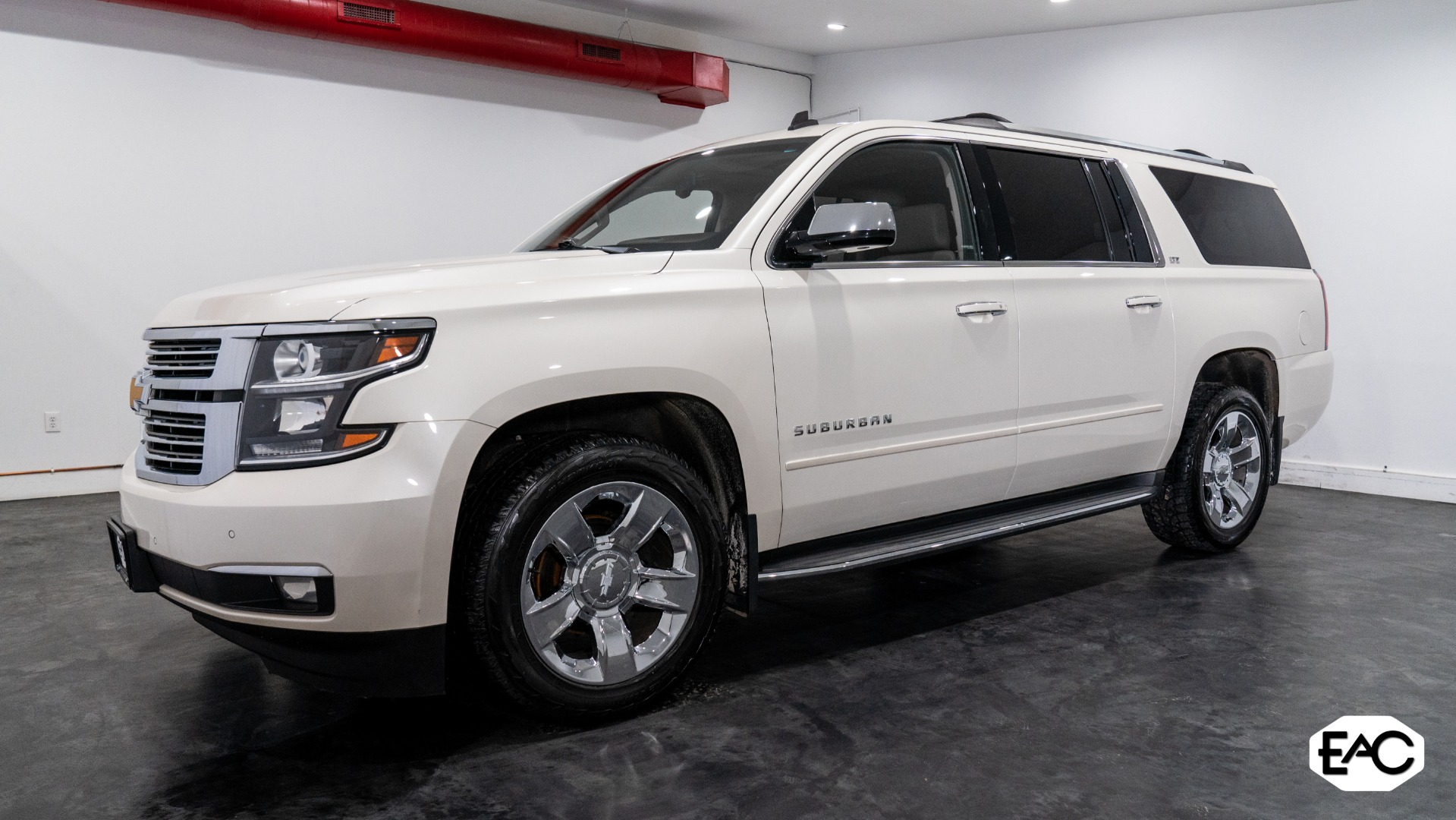 Used 2015 Chevrolet Suburban LTZ 1500 for sale Sold at Empire Auto Collection in Warren MI 48091 1