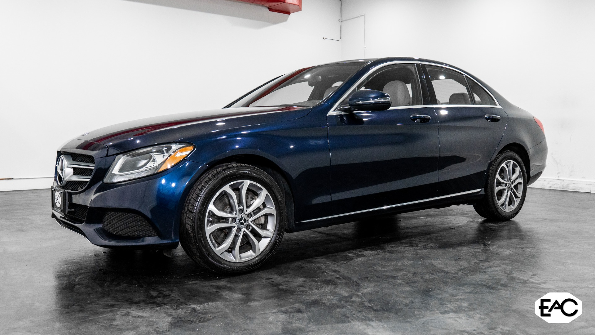 Used 2018 Mercedes-Benz C-Class C 300 4MATIC for sale $26,490 at Empire Auto Collection in Warren MI 48091 1