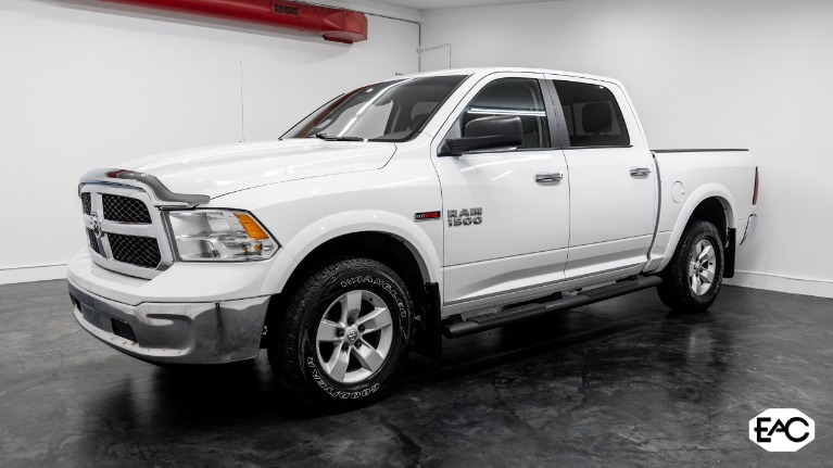 Used 2016 Ram Ram Pickup 1500 SLT for sale $24,990 at Empire Auto Collection in Warren MI