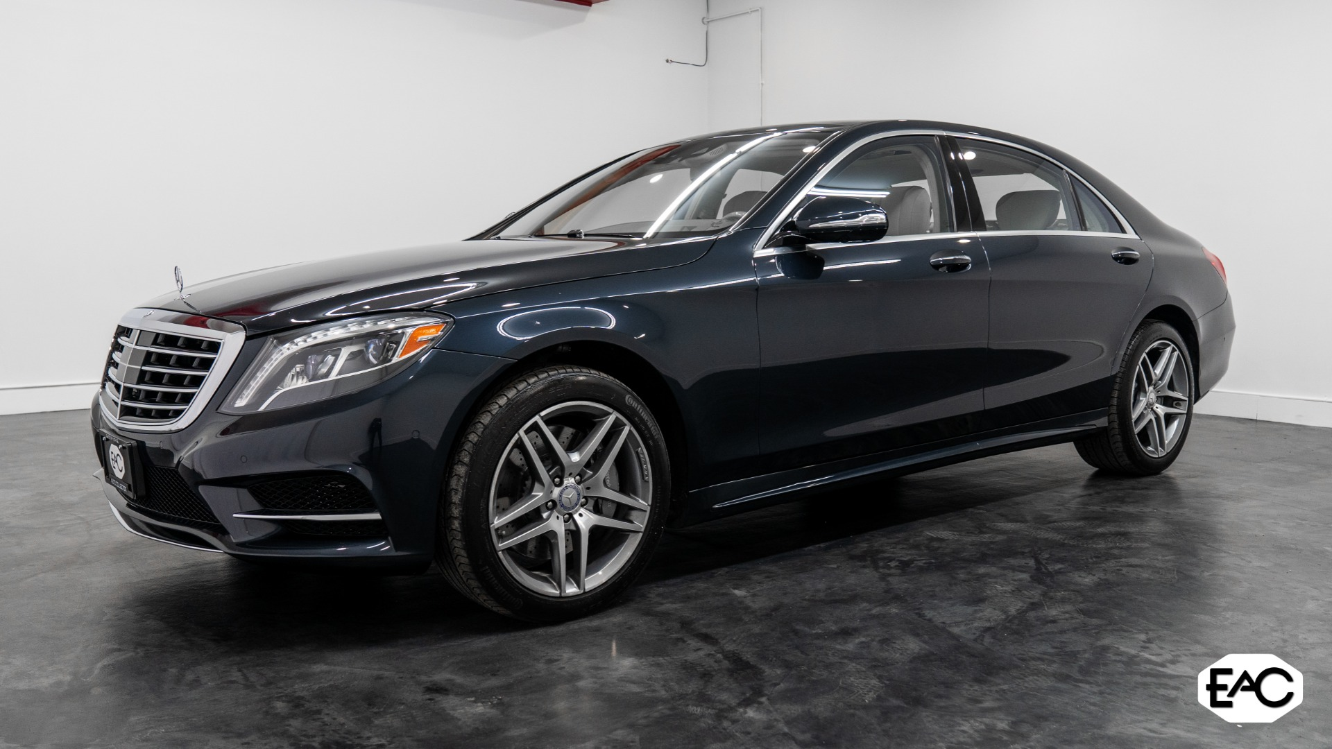 Used 2015 Mercedes-Benz S-Class S 550 4MATIC for sale $41,990 at Empire Auto Collection in Warren MI 48091 1