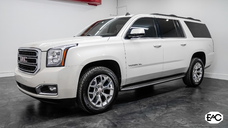 Used 2015 GMC Yukon XL SLT 1500 for sale Sold at Empire Auto Collection in Warren MI 48091 1