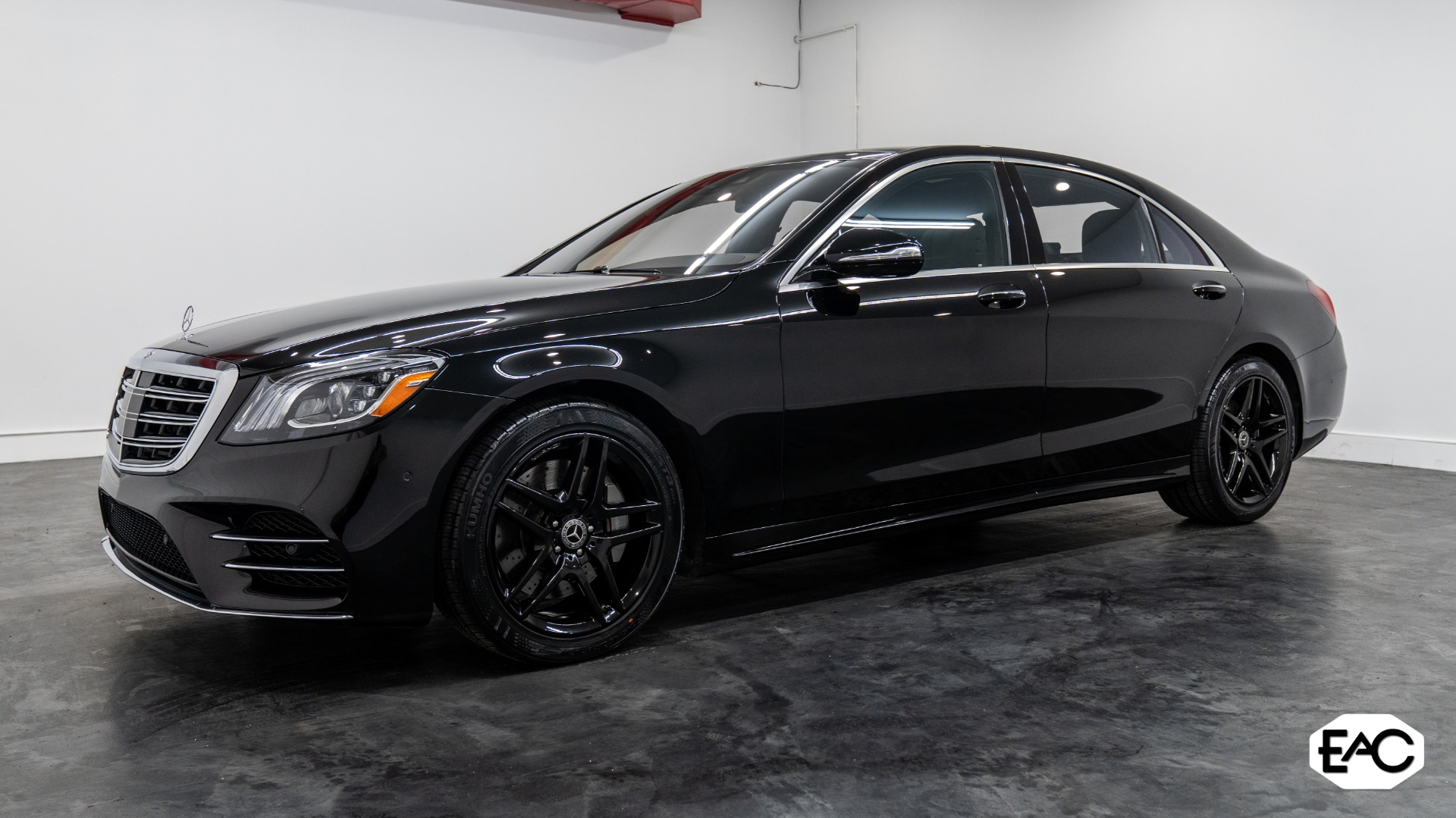 Used 2018 Mercedes-Benz S-Class S 450 4MATIC for sale $59,990 at Empire Auto Collection in Warren MI 48091 1