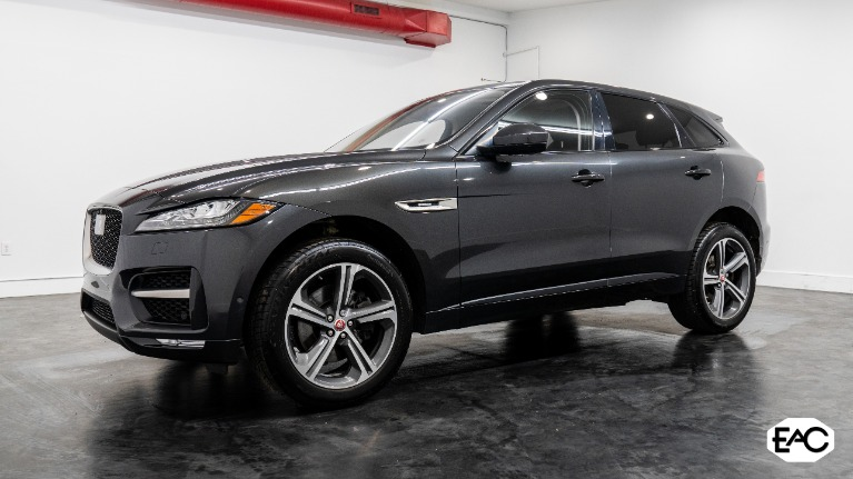 Used 2017 Jaguar F-PACE 35t R-Sport for sale $40,990 at Empire Auto Collection in Warren MI