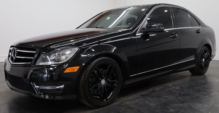 Used 2014 Mercedes-Benz C-Class C 300 Sport 4MATIC for sale $15,490 at Empire Auto Collection in Warren MI 48091 1