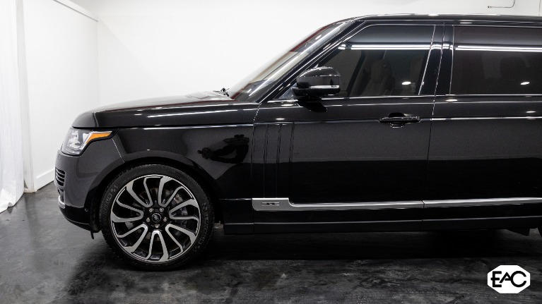 Used 2016 Land Rover Range Rover Supercharged LWB for sale $42,990 at Empire Auto Collection in Warren MI 48091 2