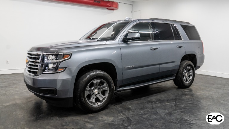 Used 2018 Chevrolet Tahoe LS for sale Sold at Empire Auto Collection in Warren MI 48091 1