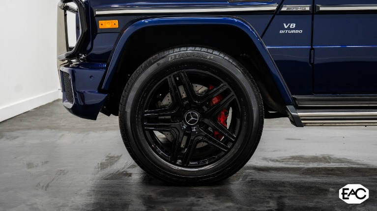 Used 2016 Mercedes-Benz G-Class AMG G 63 for sale $104,990 at Empire Auto Collection in Warren MI 48091 3