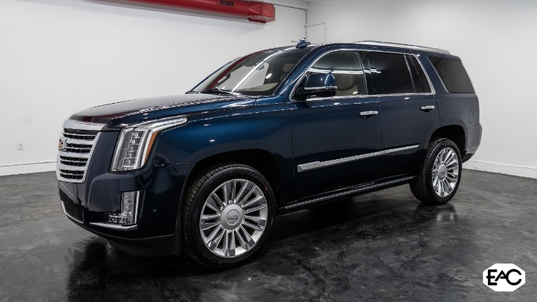 Used 2018 Cadillac Escalade Platinum for sale Sold at Empire Auto Collection in Warren MI 48091 1