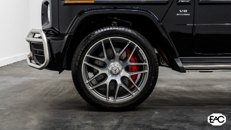 Used 2019 Mercedes-Benz G-Class AMG G 63 for sale $199,990 at Empire Auto Collection in Warren MI 48091 3
