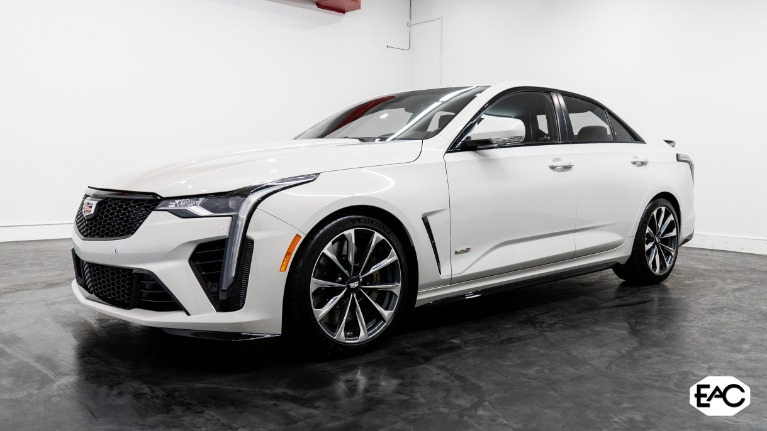 Used 2022 Cadillac CT4-V Blackwing for sale $115,990 at Empire Auto Collection in Warren MI