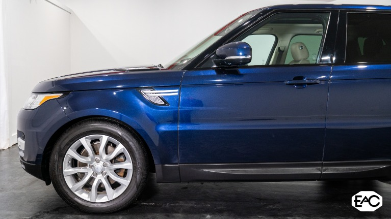 Used 2016 Land Rover Range Rover Sport HSE for sale $31,495 at Empire Auto Collection in Warren MI 48091 2