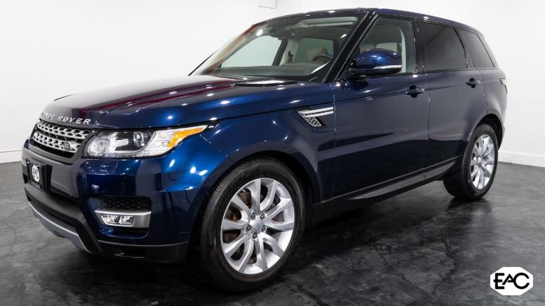 Used 2016 Land Rover Range Rover Sport HSE for sale Sold at Empire Auto Collection in Warren MI 48091 1