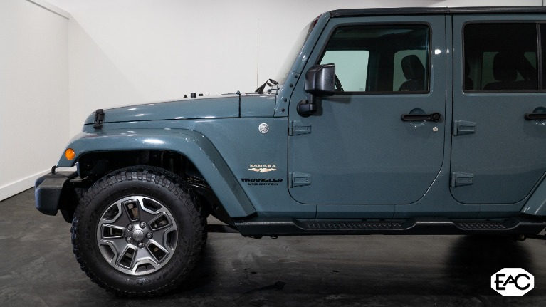Used 2015 Jeep Wrangler Unlimited Sahara for sale Sold at Empire Auto Collection in Warren MI 48091 2