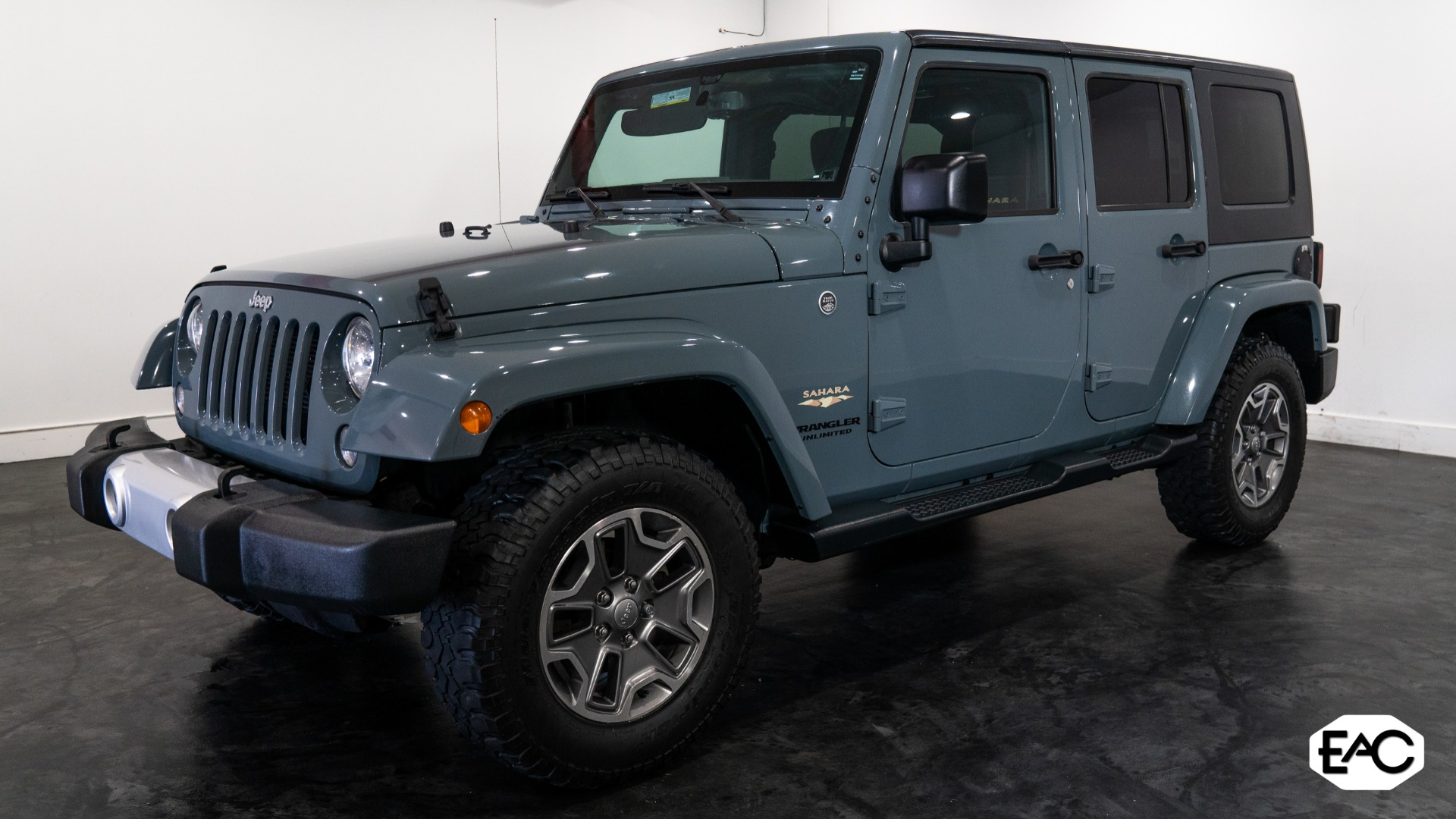 Used 2015 Jeep Wrangler Unlimited Sahara for sale Sold at Empire Auto Collection in Warren MI 48091 1