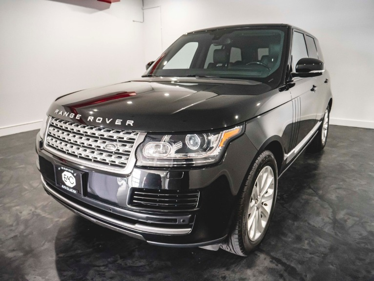Used 2014 Land Rover Range Rover HSE HSE for sale Sold at Empire Auto Collection in Warren MI 48091 3